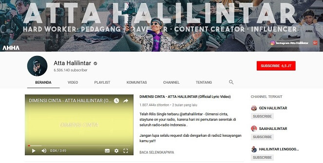 5 Fakta Atta Halilintar, Raja YouTube Indonesia yang Super Tajir 2
